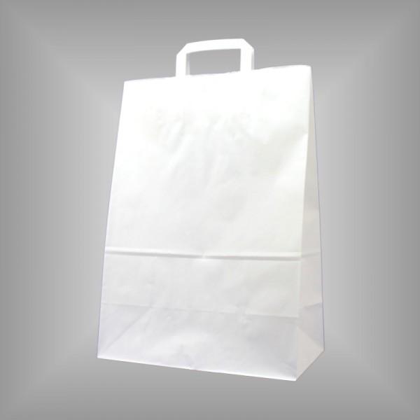 32 x 17 x 44 cm Papiertüten weiß 250 Stück