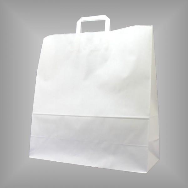45 x 17 x 47 cm Papiertüten weiß 250 Stück