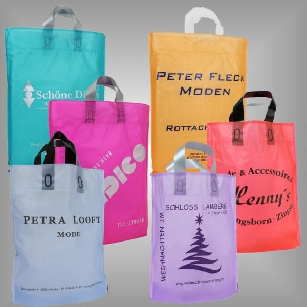 Plastiktüten mit Firmendruck