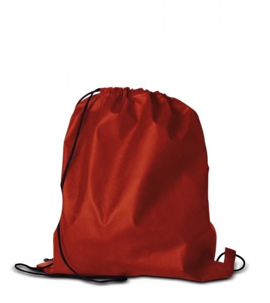 Textilrucksack 38 x 42 cm Rot