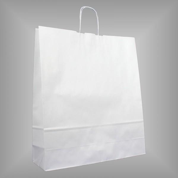 Papiertragetaschen weiß 44 x 14 x 50 cm